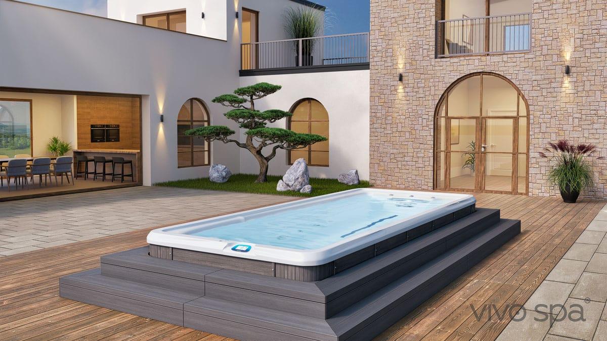 vivo spa waterfit swim spa